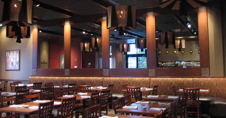 Interior view of Taza in downtown Cleveland.
